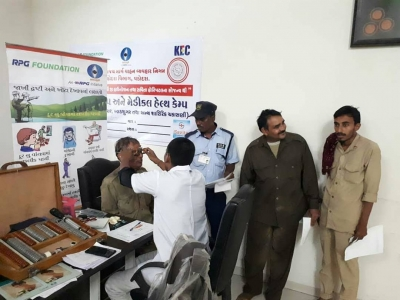 Eye Checkup Camp with Bus Drivers