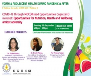 Webinar on Opportunities for Nutrition, Health and Wellbeing amidst adversity
