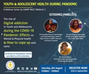 Webinar on Digital Addiction